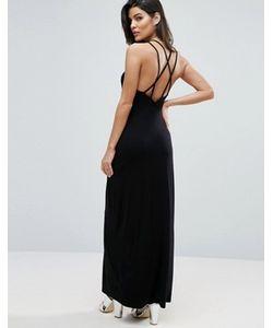 Asos | Платье Макси С Лямками На Спине