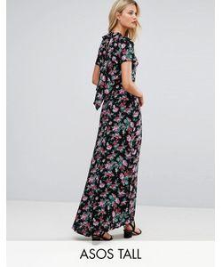 ASOS TALL | Платье Макси С Цветочным Принтом