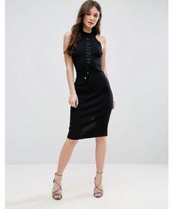 Qed London | Облегающее Платье Со Шнуровкой