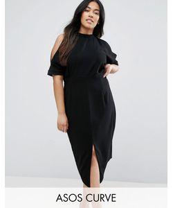 ASOS CURVE | Платье С Открытыми Плечами