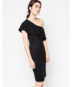 Minimum | Платье Миди На Одно Плечи Henta