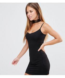 ASOS PETITE | Облегающее Платье Мини На Бретельках
