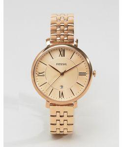Fossil | Часы Оттенка Розового Золота Es3435