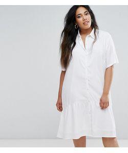 Daisy Street Plus | Oversize-Платье С Короткими Рукавами И Баской По Краю