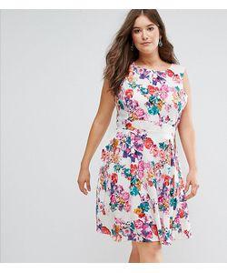 Koko | Короткое Приталенное Платье С Цветочным Принтом