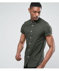 Burton Menswear | Рубашка Из Ткани С Вафельной Фактурой С Короткими Рукавами