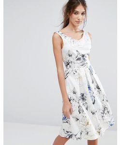 Closet London   Платье Со Складками И V-Образным Вырезом Сзади Closet