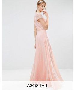 ASOS TALL   Кружевное Платье Макси Kate