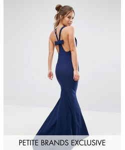 Jarlo Petite | Платье-Халтер Макси С Бантиком Сзади