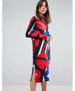 Cheap Monday | Платье С Принтом