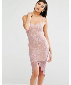 MISSGUIDED | Облегающее Кружевное Платье