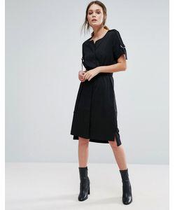 Selected | Платье С Поясом Femme