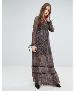 Vero Moda | Платье Макси С Цветочным Принтом Fabs