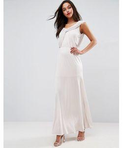 Asos | Платье Макси С Драпировкой Wedding