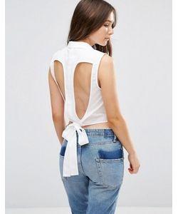 Vero Moda   Укороченная Рубашка С Вырезами Kayla