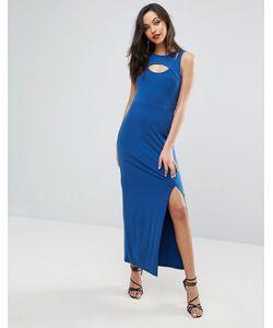 BCBGMAXAZRIA | Облегающее Платье С Вырезами В Стиле Майки-Борцовки Спереди Bcbg