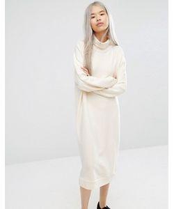 Monki | Свободное Трикотажное Платье