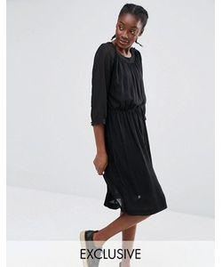 Monki   Эксклюзивное Платье Со Складками