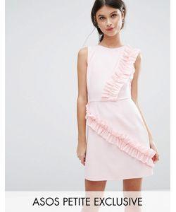 ASOS PETITE | Платье Мини С Оборками
