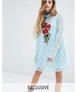 Reclaimed Vintage | Кружевное Платье С Аппликацией X Romeo And Juliet