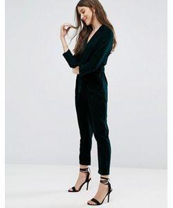 New Look | Бархатный Комбинезон В Пижамном Стиле