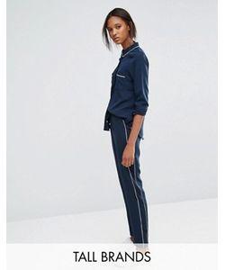 Vero Moda Tall | Брюки В Пижамном Стиле С Окантовкой