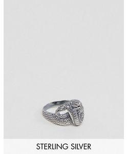 Asos | Серебряное Кольцо В Виде Змеи