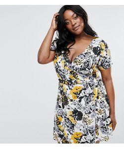NVME | Чайное Платье С Запахом Plus