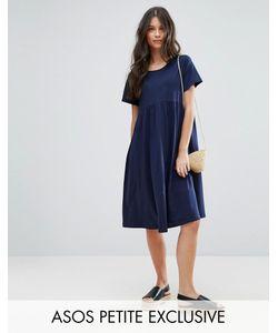 ASOS PETITE | Свободное Платье Миди Ultimate