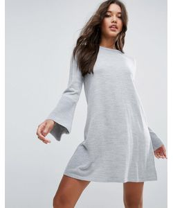 Asos | Вязаное Платье C Рукавом-Клеш