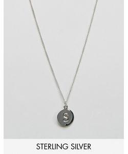 Fashionology   Серебряное Ожерелье С Буквой S