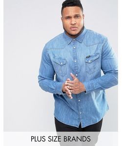 Wrangler | Светлая Рубашка В Стиле Вестерн Plus