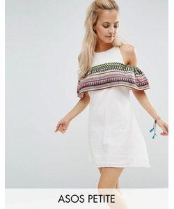 ASOS PETITE | Платье С Открытыми Плечами