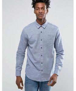 Selected Homme | Рубашка Стандартного Кроя Из Тканого Жаккарда