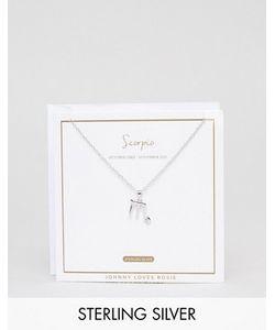 Johnny Loves Rosie | Серебряное Ожерелье Со Знаком Зодиака Стрелец