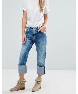 Pepe Jeans London | Укороченные Джинсы С Отворотами Donna