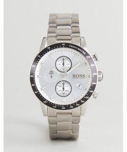 Hugo | Серебристые Наручные Часы С Хронографом Boss By Boss 1513511 Rafale