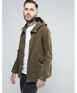 Penfield   Зеленая Непромокаемая Куртка С Капюшоном Davenport