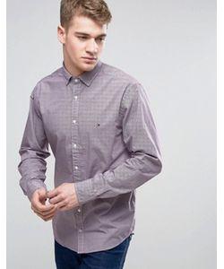 Tommy Hilfiger | Классическая Рубашка С Принтом На Пуговицах Hampton New York
