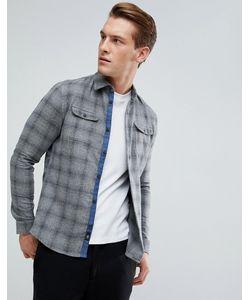 Burton Menswear | Рубашка Узкого Кроя В Клетку