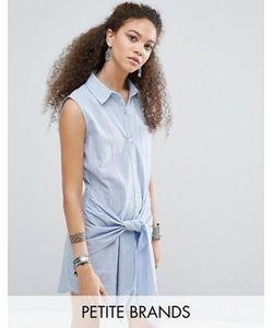 Glamorous Petite | Джинсовое Платье С Отделкой