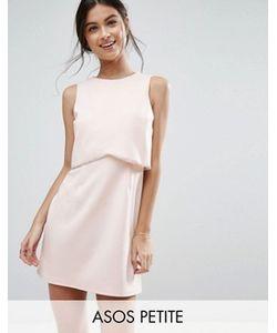 ASOS PETITE | Платье Мини С Кроп-Топом И Отделкой
