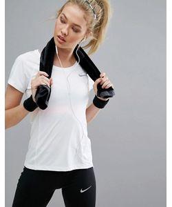 Nike | Топ С Круглым Вырезом Running