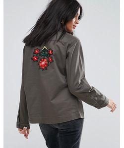 Kubban | Легкая Куртка С Вышивкой