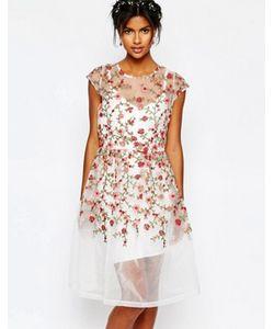 Body Frock | Платье С Вышитыми Розами Wedding