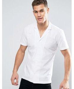 Minimum | Белая Рубашка С Короткими Рукавами И Отложным Воротником Luca