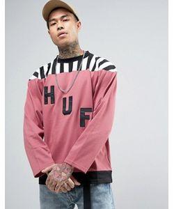 Huf | Лонгслив С Большим Логотипом