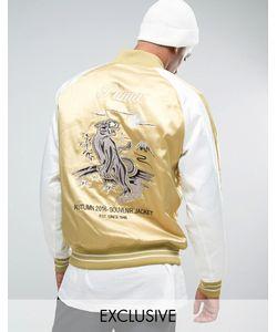 Puma | Куртка С Вышивкой Эксклюзивно Для