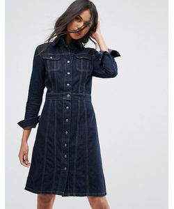 Lee | Джинсовое Платье На Пуговицах Authentic