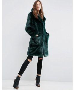 Asos | Пальто Из Плюшевого Меха